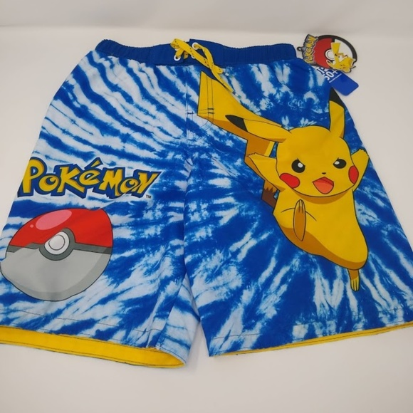 2bd613edd1 Pokemon Pikachu Boys Swimming Trunks Swimwear L. NWT. Pokemon.  M_5cbf7428b3e9179ca13406e6. M_5cbf7428adb58dddb1fabb23.  M_5cbf74279ed36def07351e55